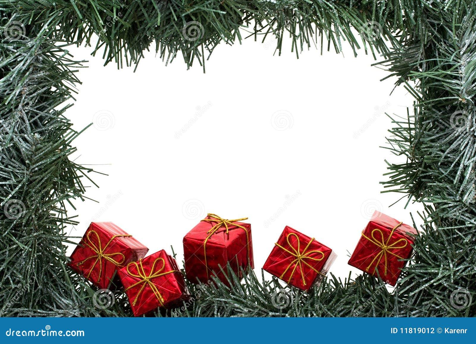 cadre de guirlande photo stock image du neige vacances. Black Bedroom Furniture Sets. Home Design Ideas