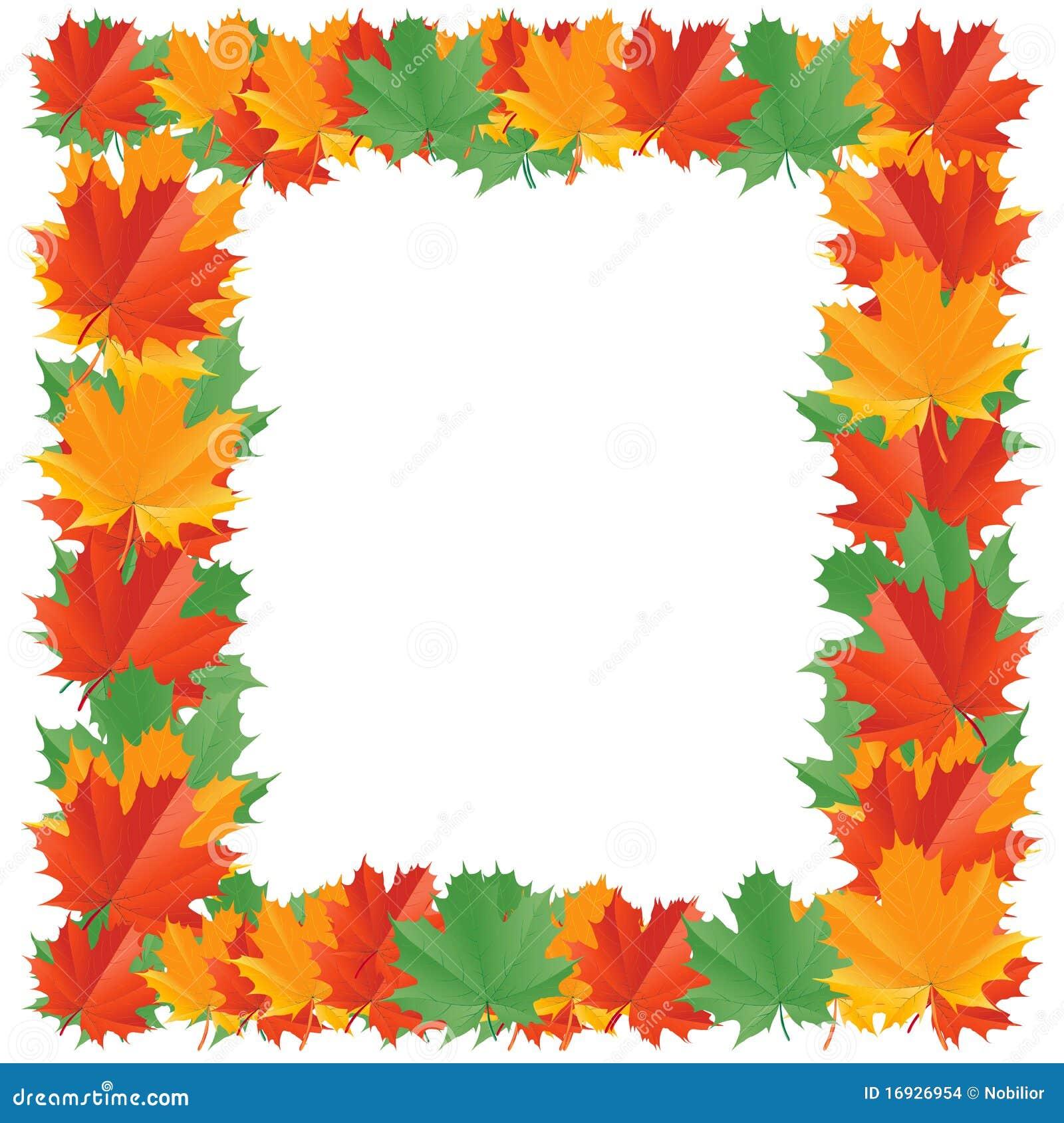 Cadre de lame d automne