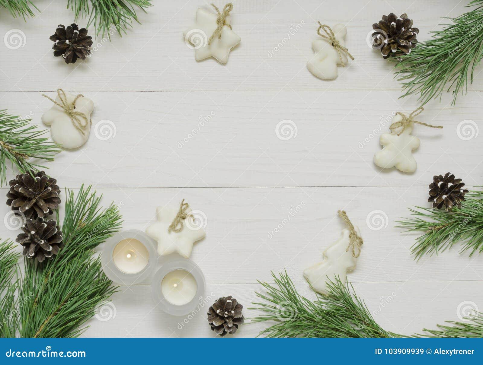 Decoration de noel pour carte de voeux
