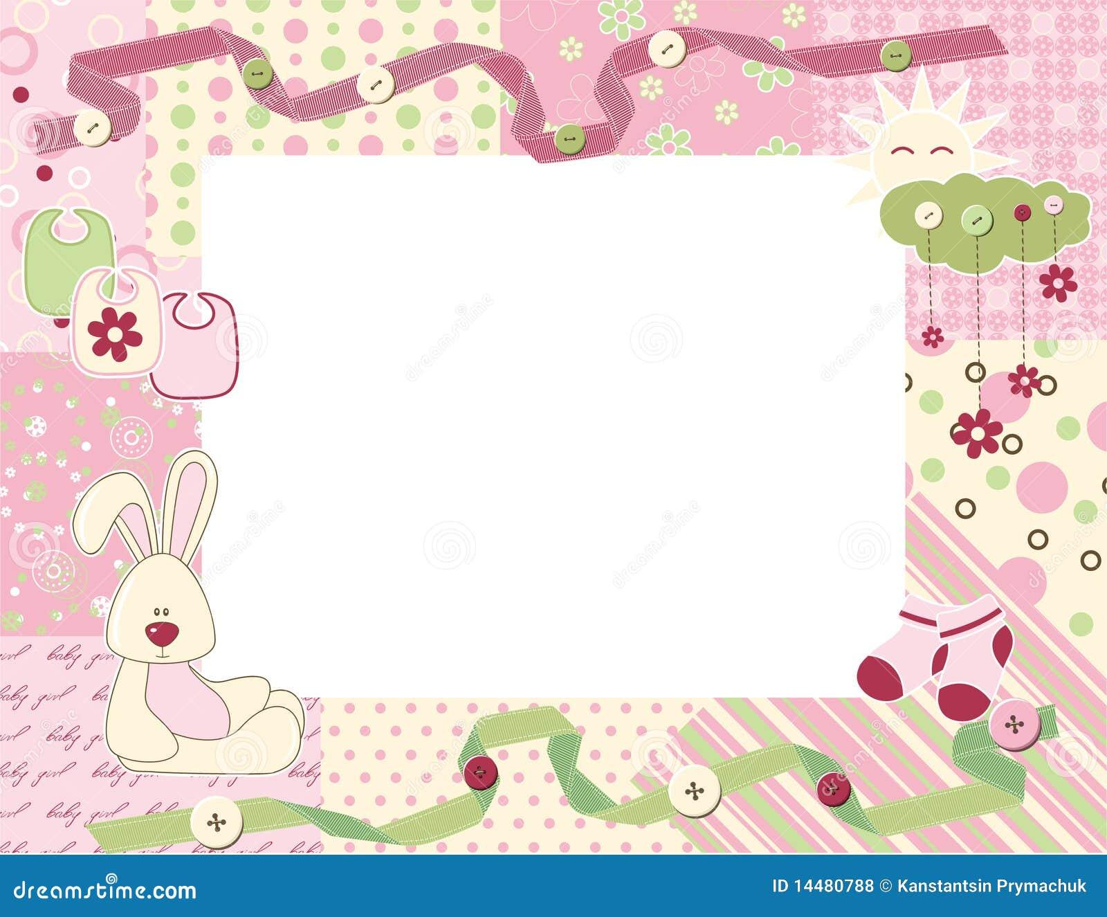 cadre de photo d 39 enfant illustration de vecteur illustration du trame 14480788. Black Bedroom Furniture Sets. Home Design Ideas