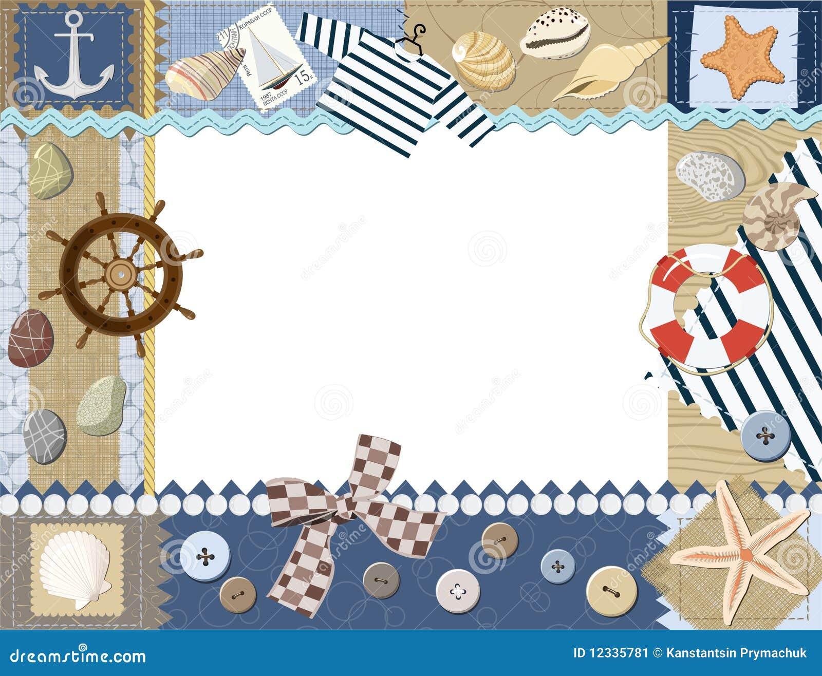 cadre de photo d 39 enfant vecteur illustration de vecteur image 12335781. Black Bedroom Furniture Sets. Home Design Ideas