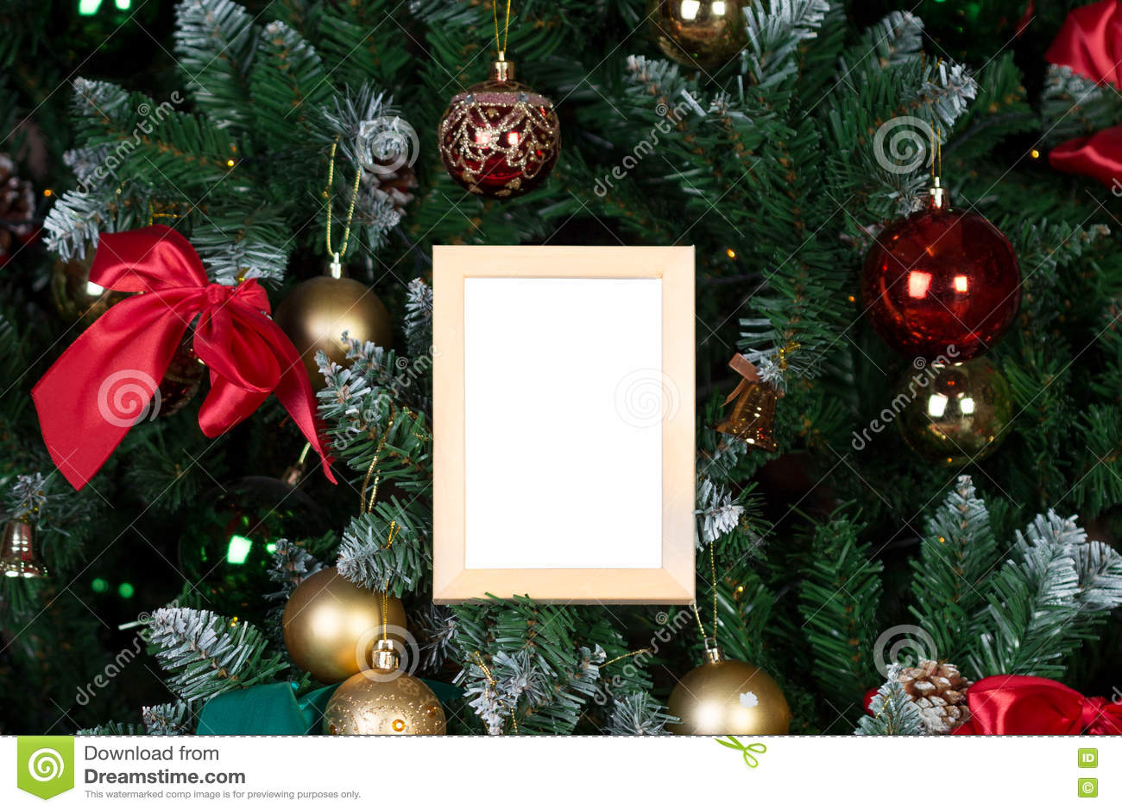 Cadre de photo de Noël