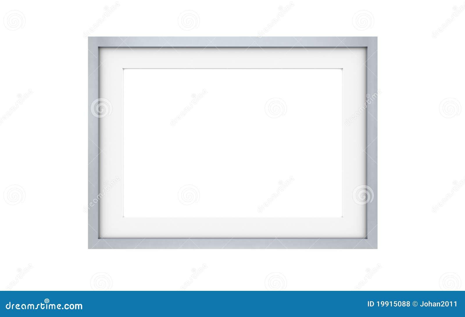 cadre de tableau acier photos libres de droits image 19915088. Black Bedroom Furniture Sets. Home Design Ideas