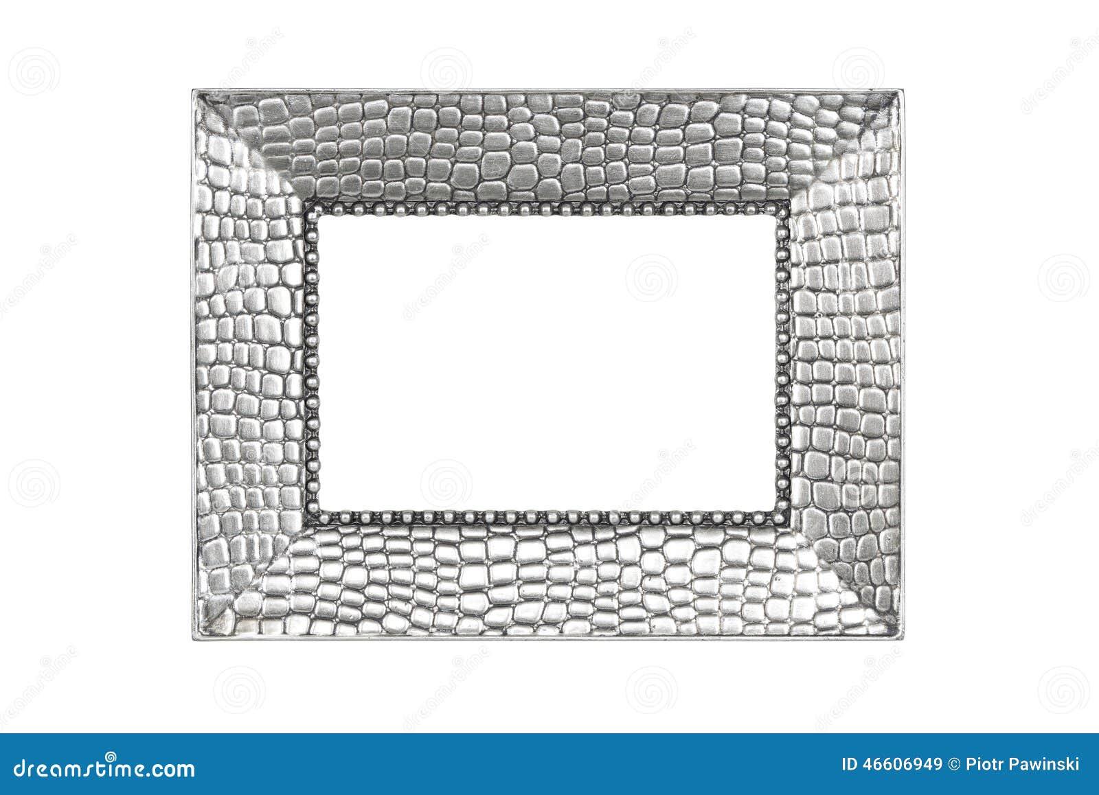 cadre de tableau argent photo stock image 46606949. Black Bedroom Furniture Sets. Home Design Ideas