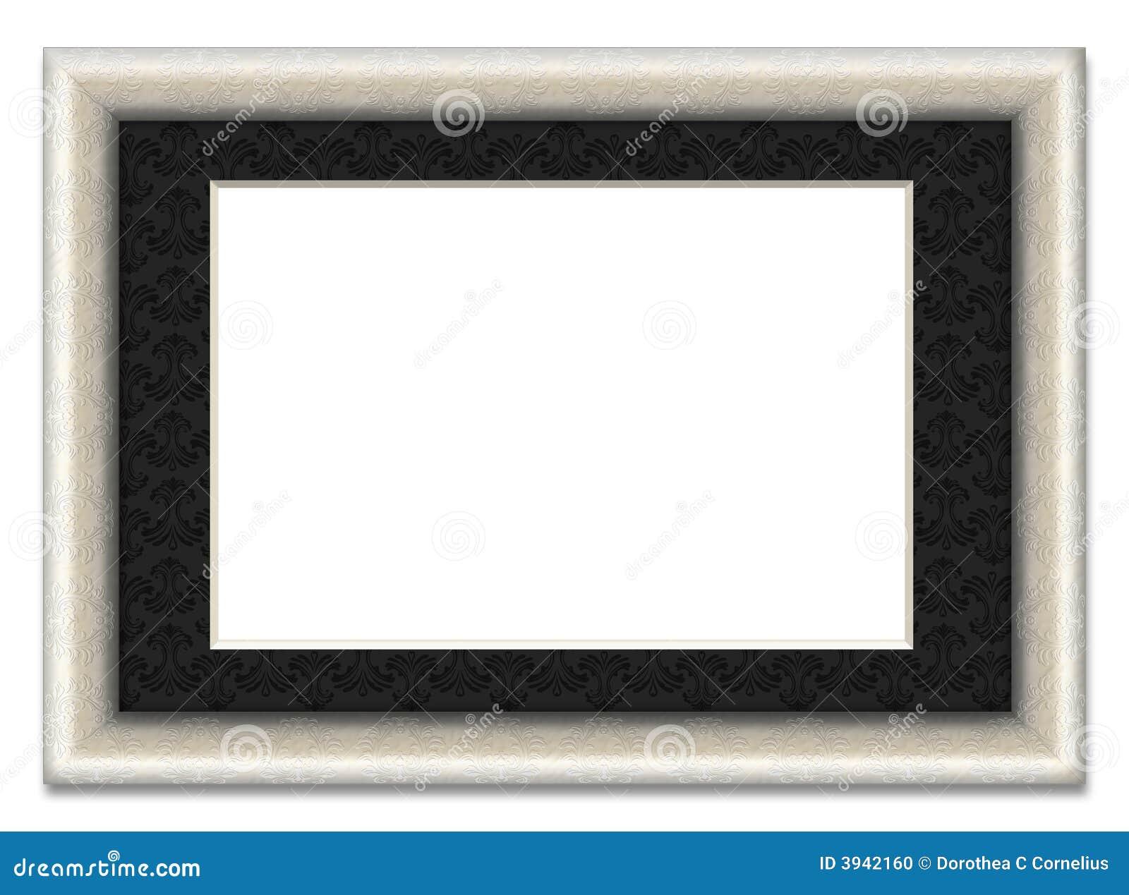 Cadre de tableau blanc avec le support de photo