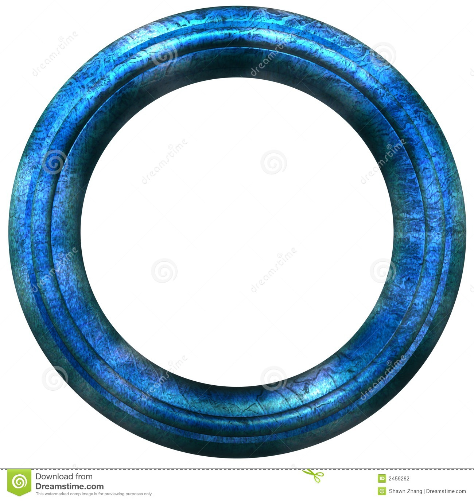 Cadre de tableau circulaire