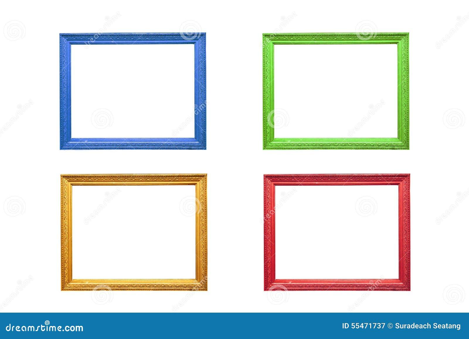 cadre de tableau color image stock image du bleu r tro 55471737. Black Bedroom Furniture Sets. Home Design Ideas