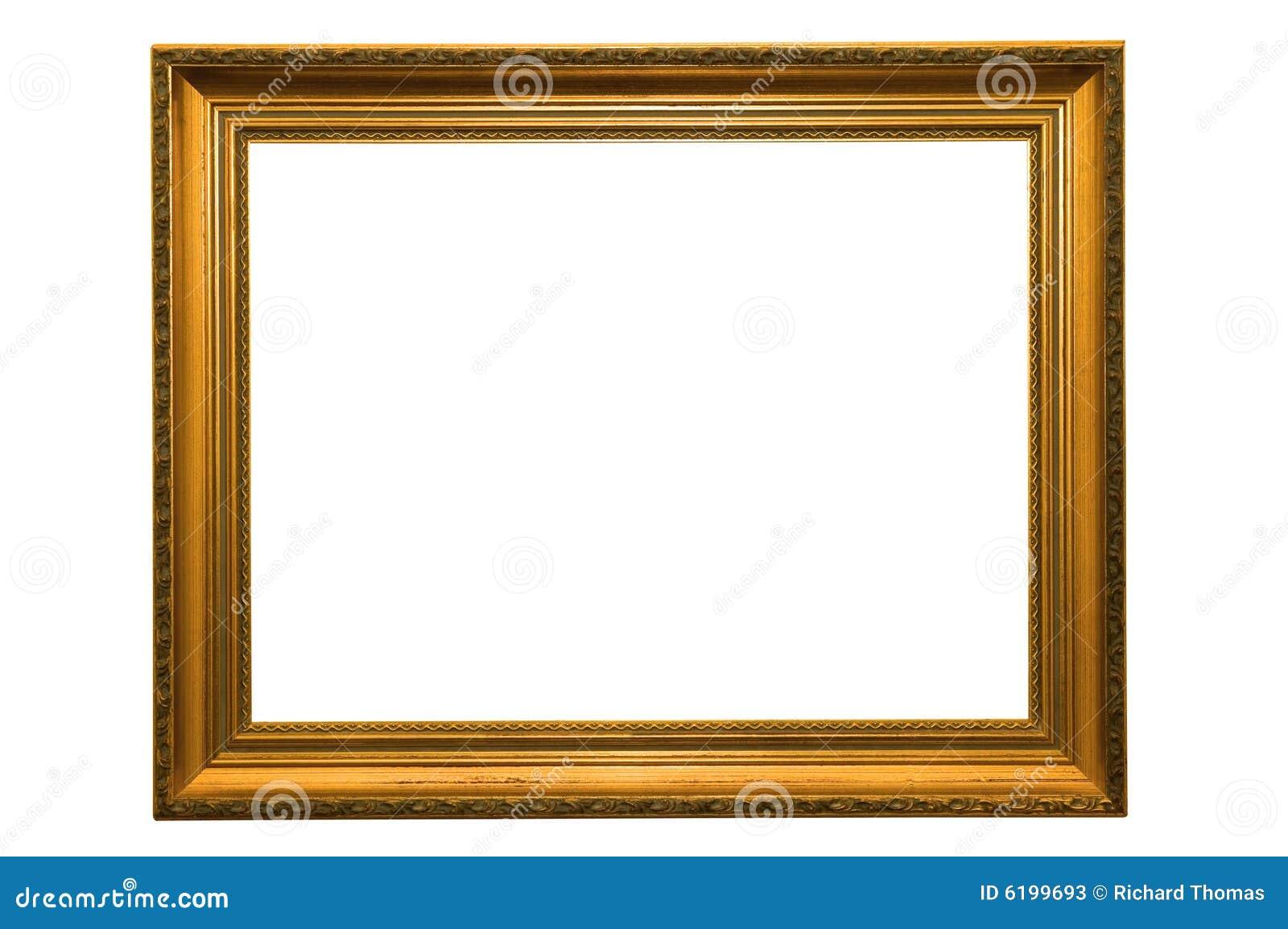 Cadre de tableau d 39 or photos stock image 6199693 for Image de cadre de tableau