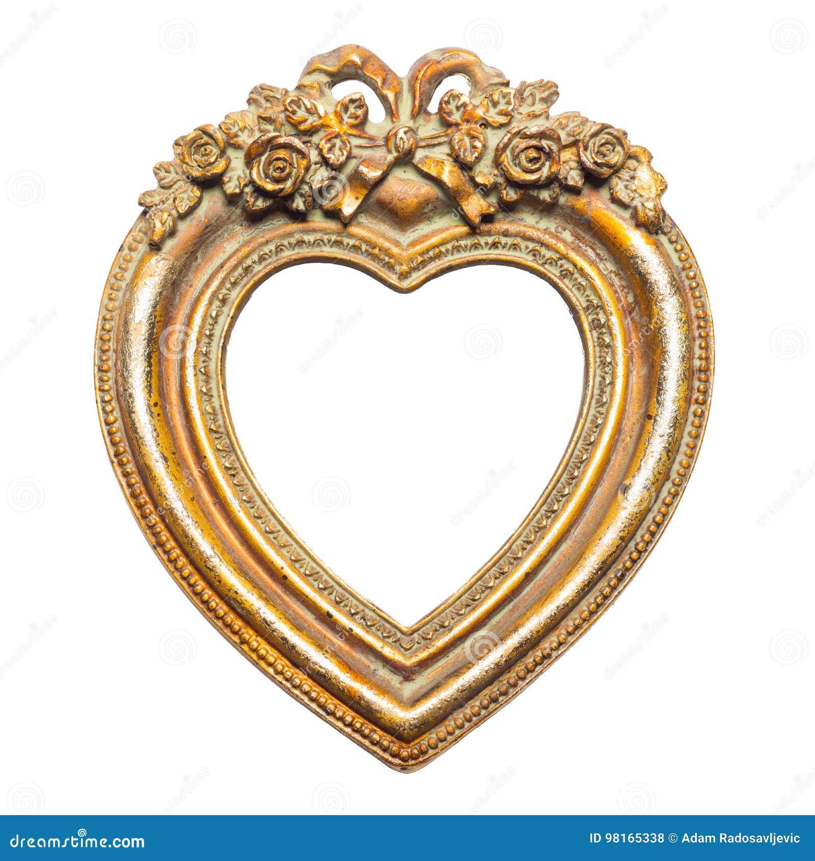 cadre de tableau de forme de coeur photo stock image du charme amour 98165338. Black Bedroom Furniture Sets. Home Design Ideas