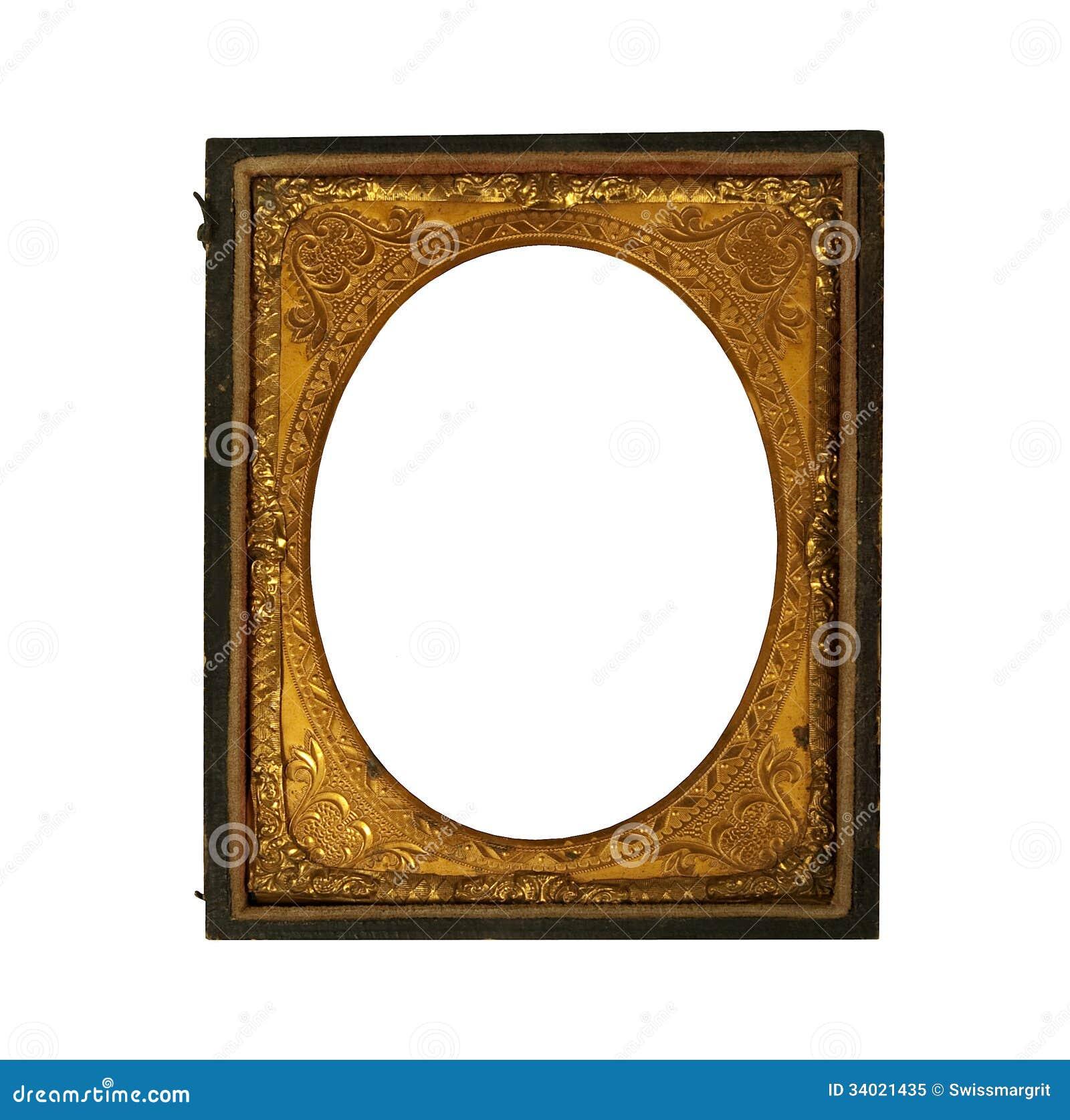 Cadre de tableau m tallique d ornat de vintage - Image de cadre de tableau ...