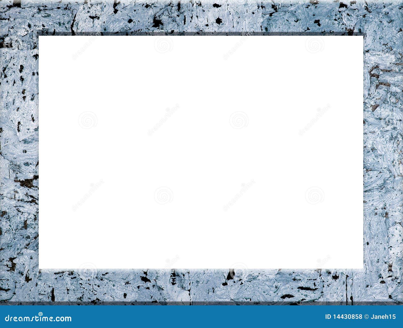Cadre de tableau texturis bleu photos libres de droits for Image de cadre de tableau