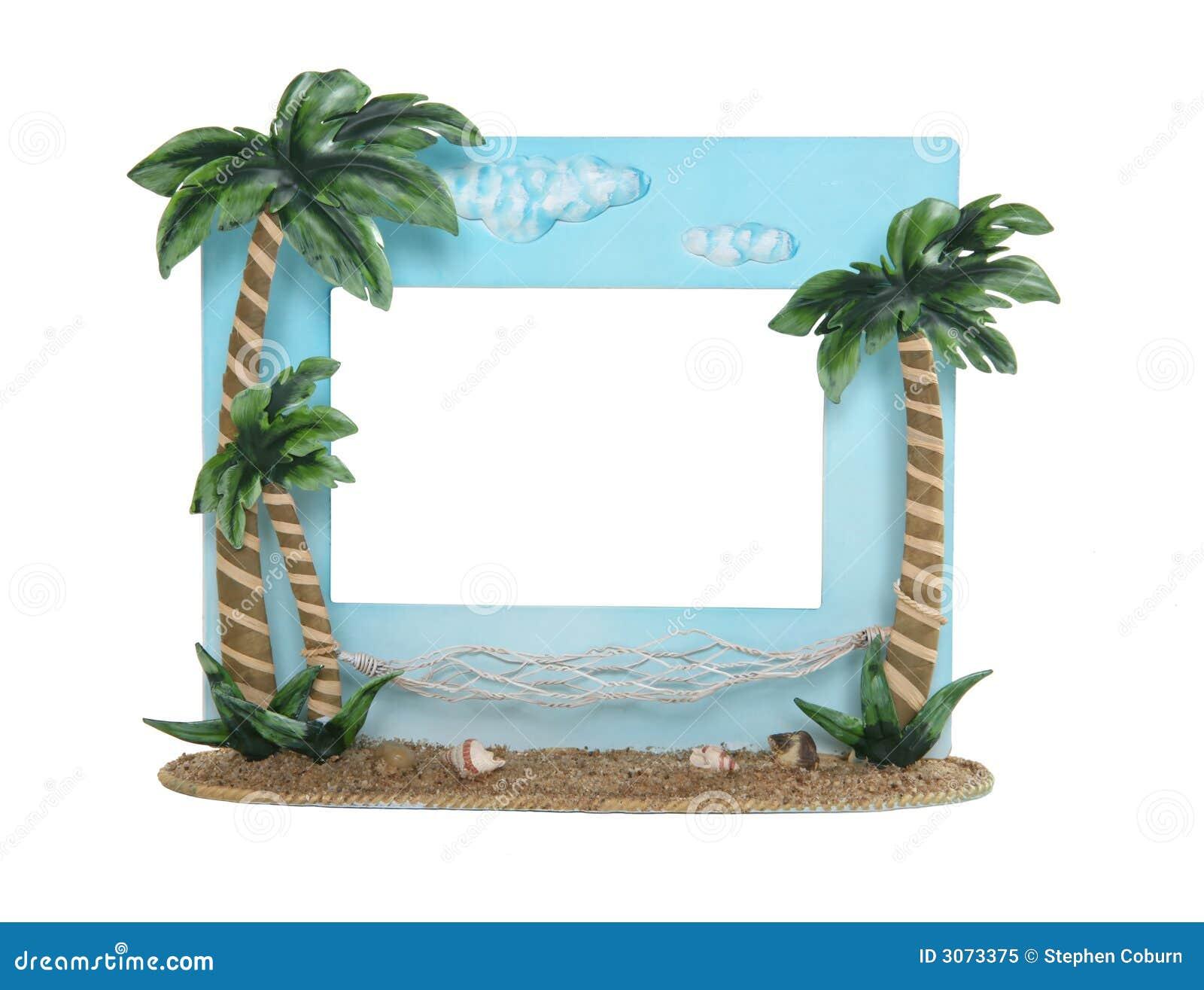 Cadre de tableau tropical photo libre de droits image for Image de cadre de tableau