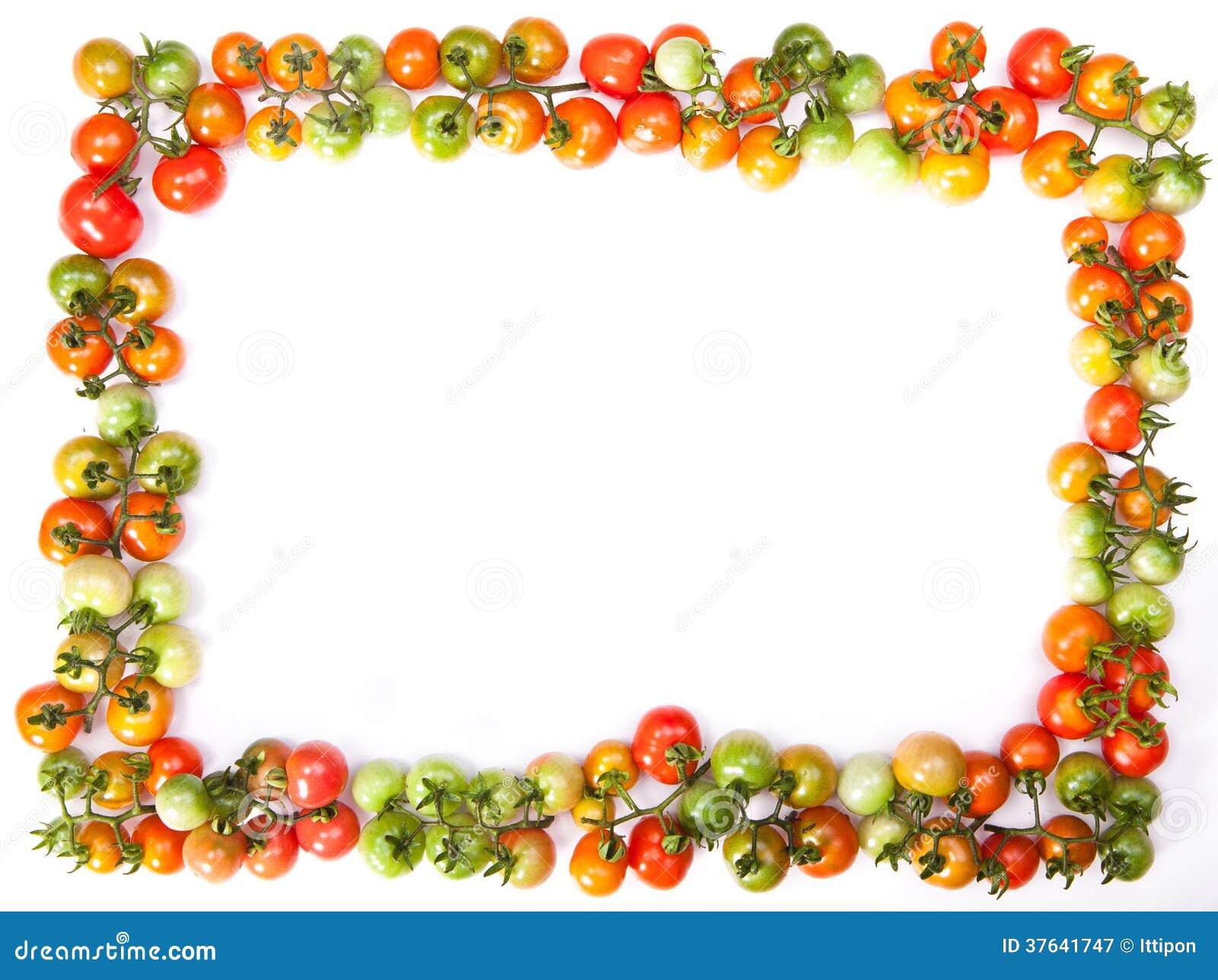 cadre de tomates photographie stock libre de droits image 37641747. Black Bedroom Furniture Sets. Home Design Ideas