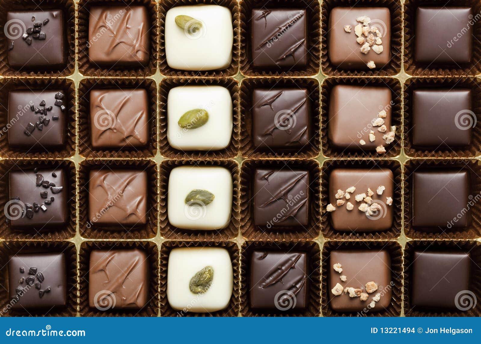 Cadre du chocolat le plus fin