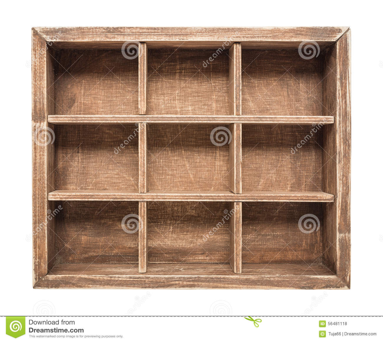 Cadre en bois d isolement