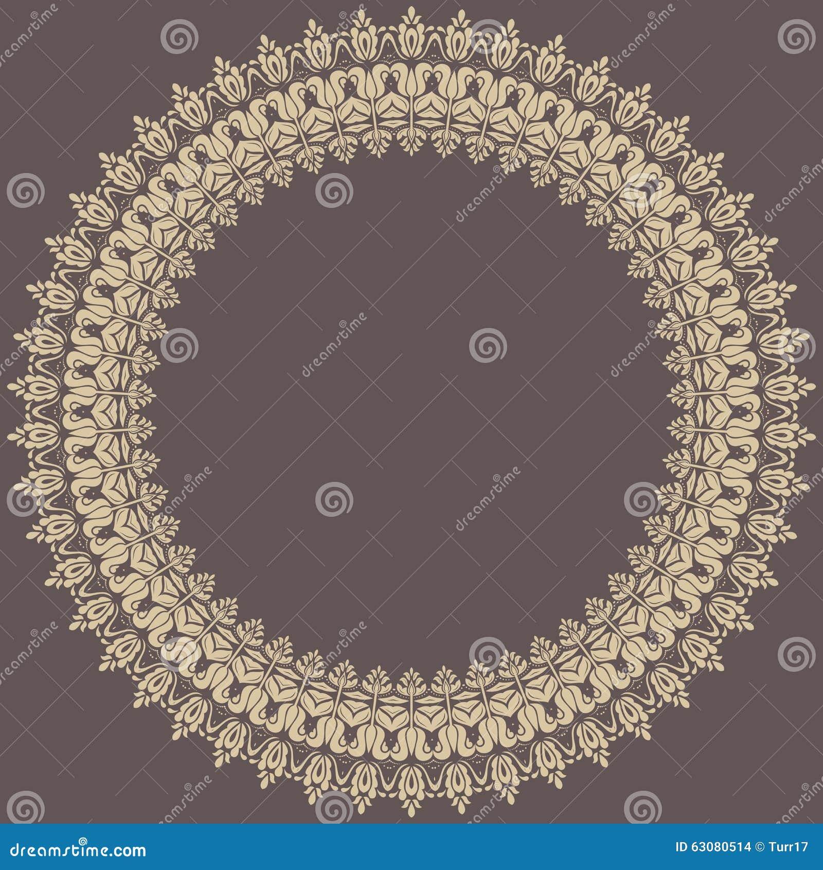 Download Cadre fin floral illustration stock. Illustration du salutation - 63080514