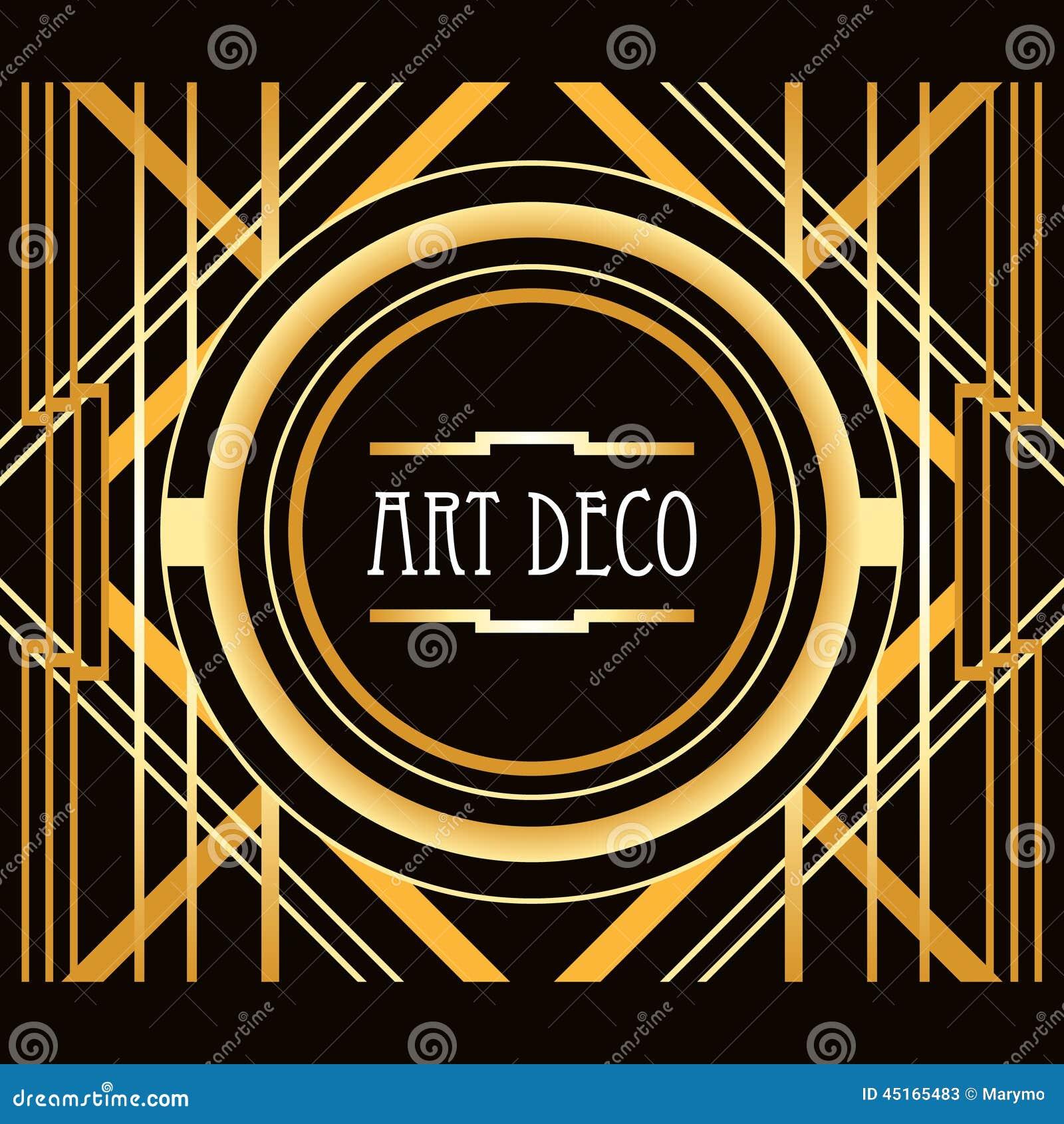 cadre g om trique d 39 abr g sur style d 39 art deco illustration de vecteur image 45165483. Black Bedroom Furniture Sets. Home Design Ideas