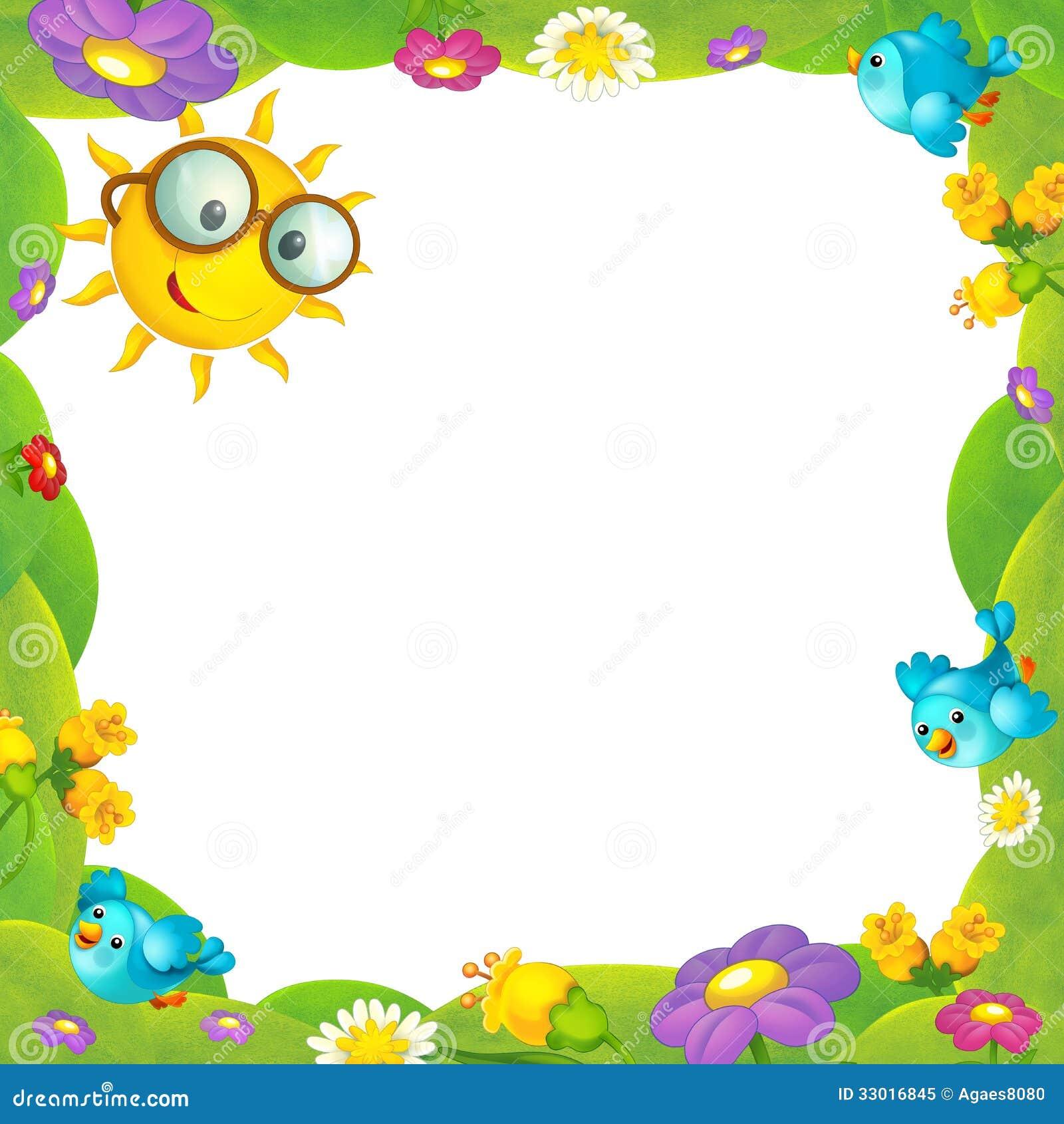 cadre heureux et color pour les enfants photo libre de droits image 33016845. Black Bedroom Furniture Sets. Home Design Ideas