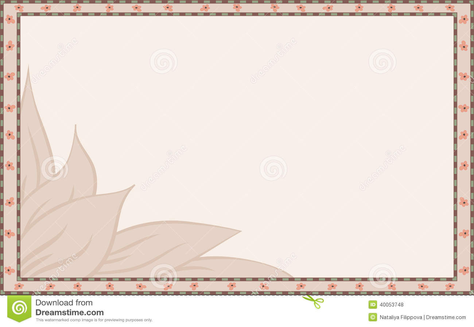 cadre simple illustration de vecteur image 40053748. Black Bedroom Furniture Sets. Home Design Ideas