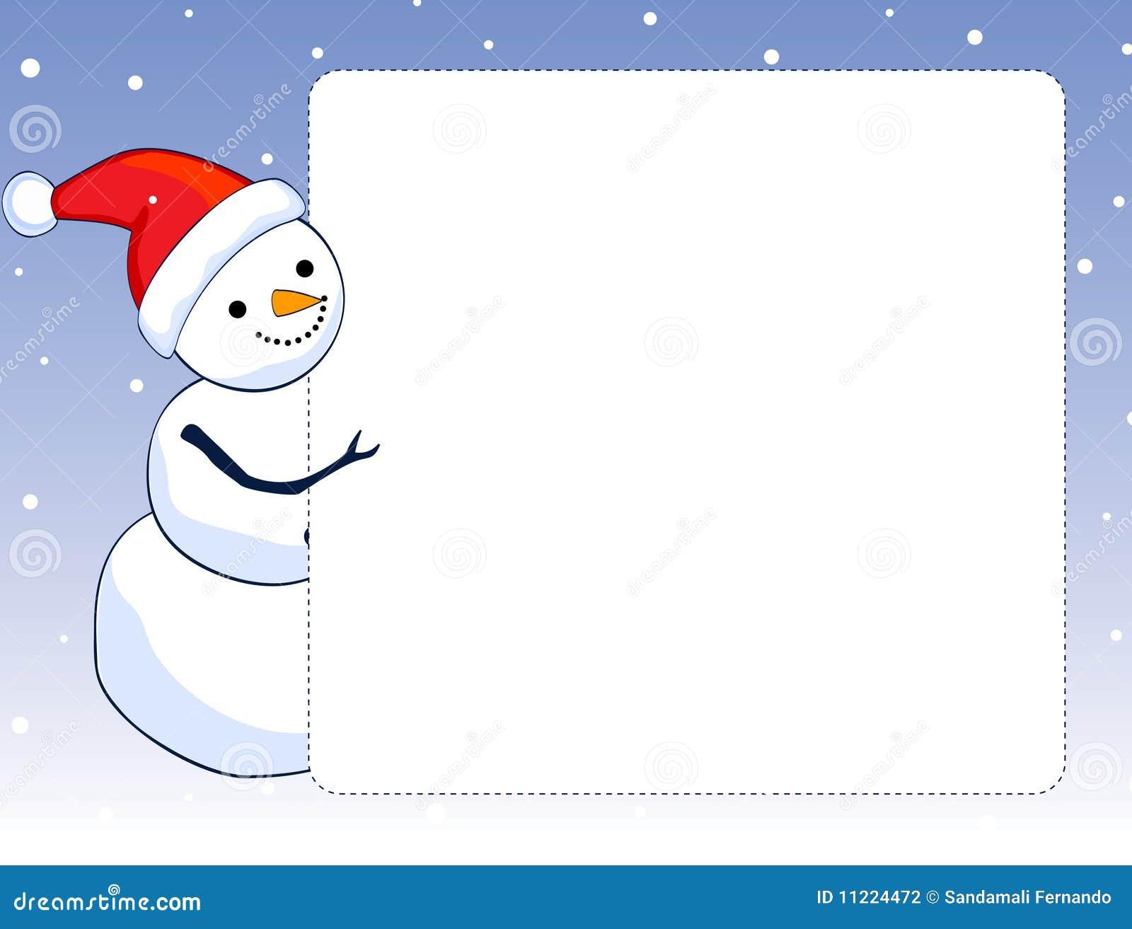 cadre  trame de bonhomme de neige photographie stock clip art snowman black and white clipart snowman free