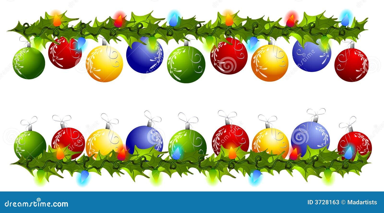 Cadres ou diviseurs de butin d ornement de Noël