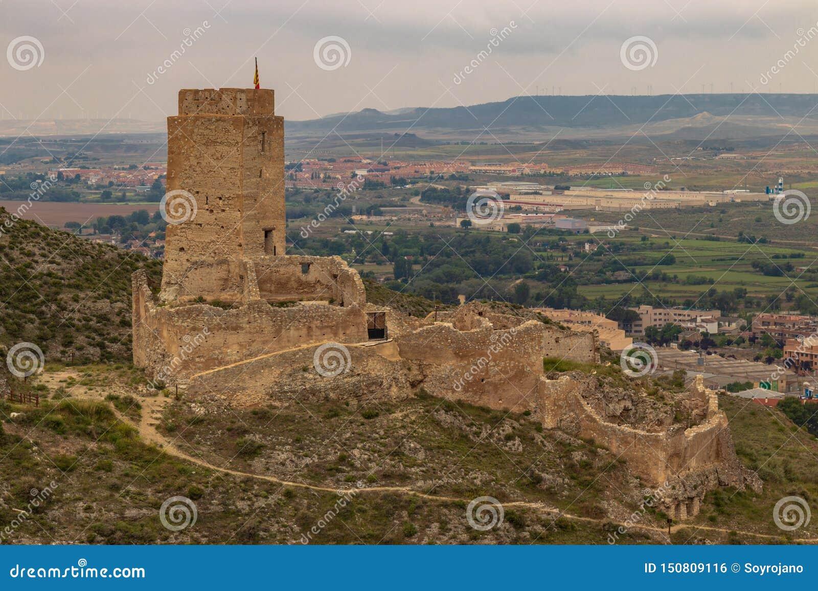 Cadrete 'kasteel oud Spaans kasteel