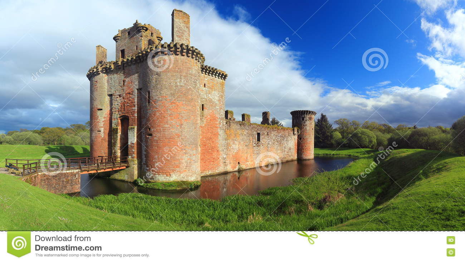 Caerlaverock Castle, Dumfries & Galloway, Σκωτία