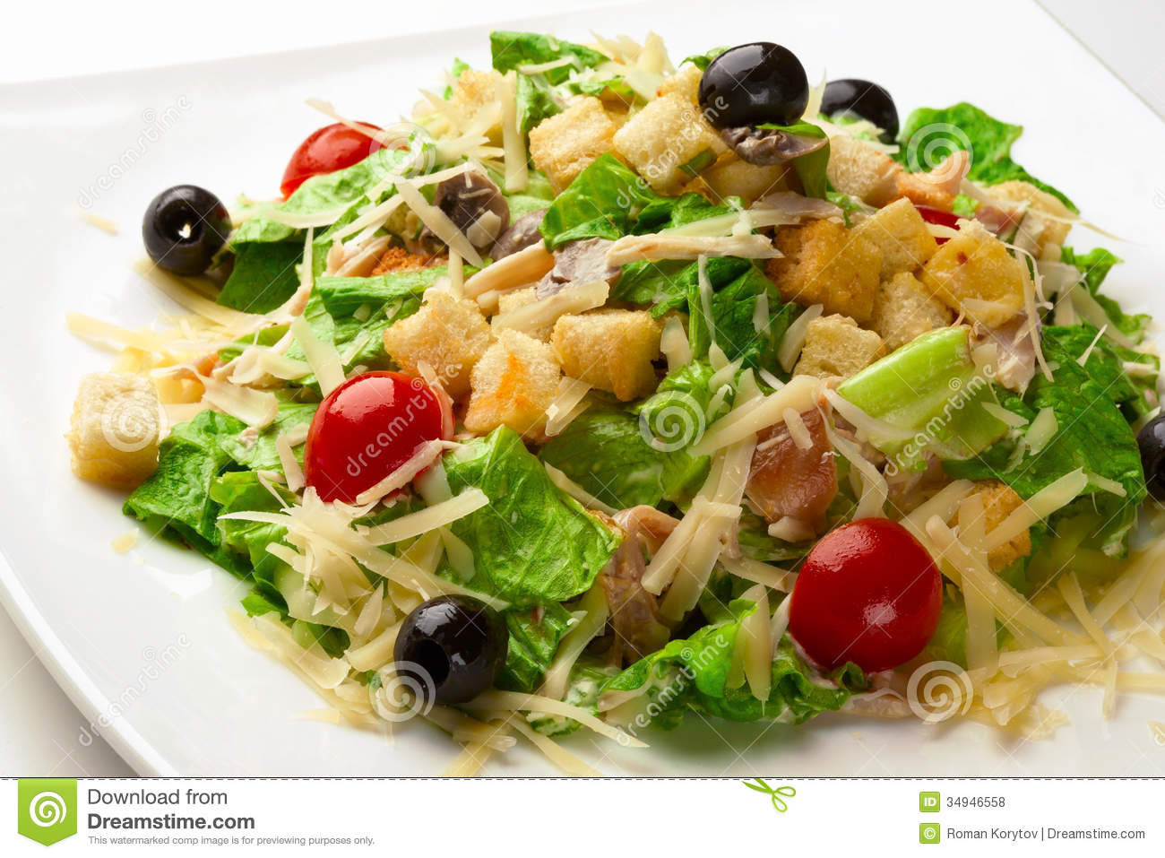 Caesar Salad Royalty Free Stock Photos - Image: 34946558