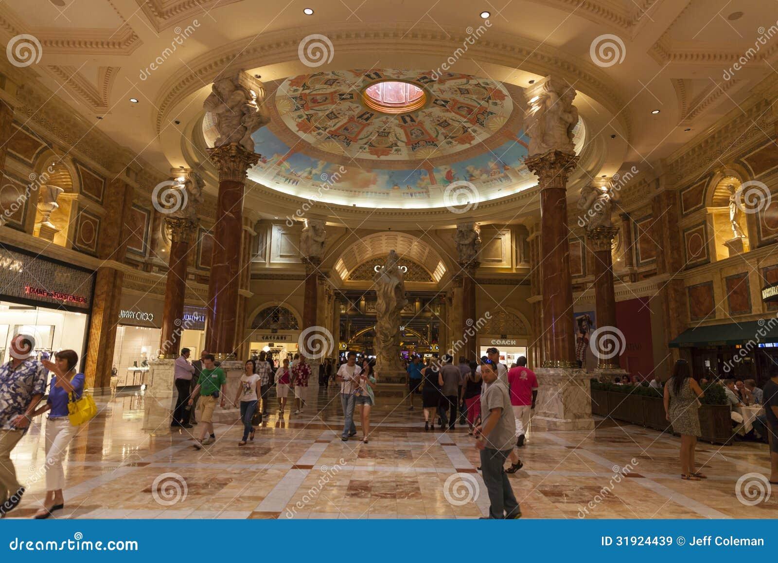 Casino Floor Plans Caesars Palace Forum Shops Casino Entrance In Las Vegas
