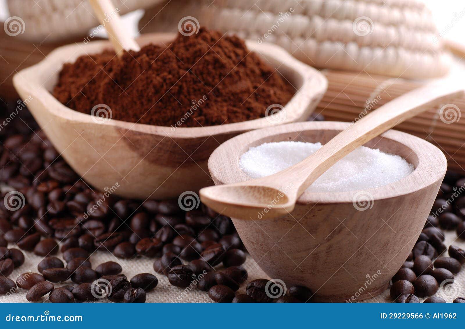 Download Café à terra foto de stock. Imagem de sabor, semente - 29229566