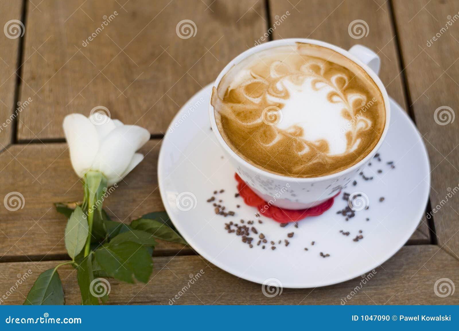 Café avec la cuvette