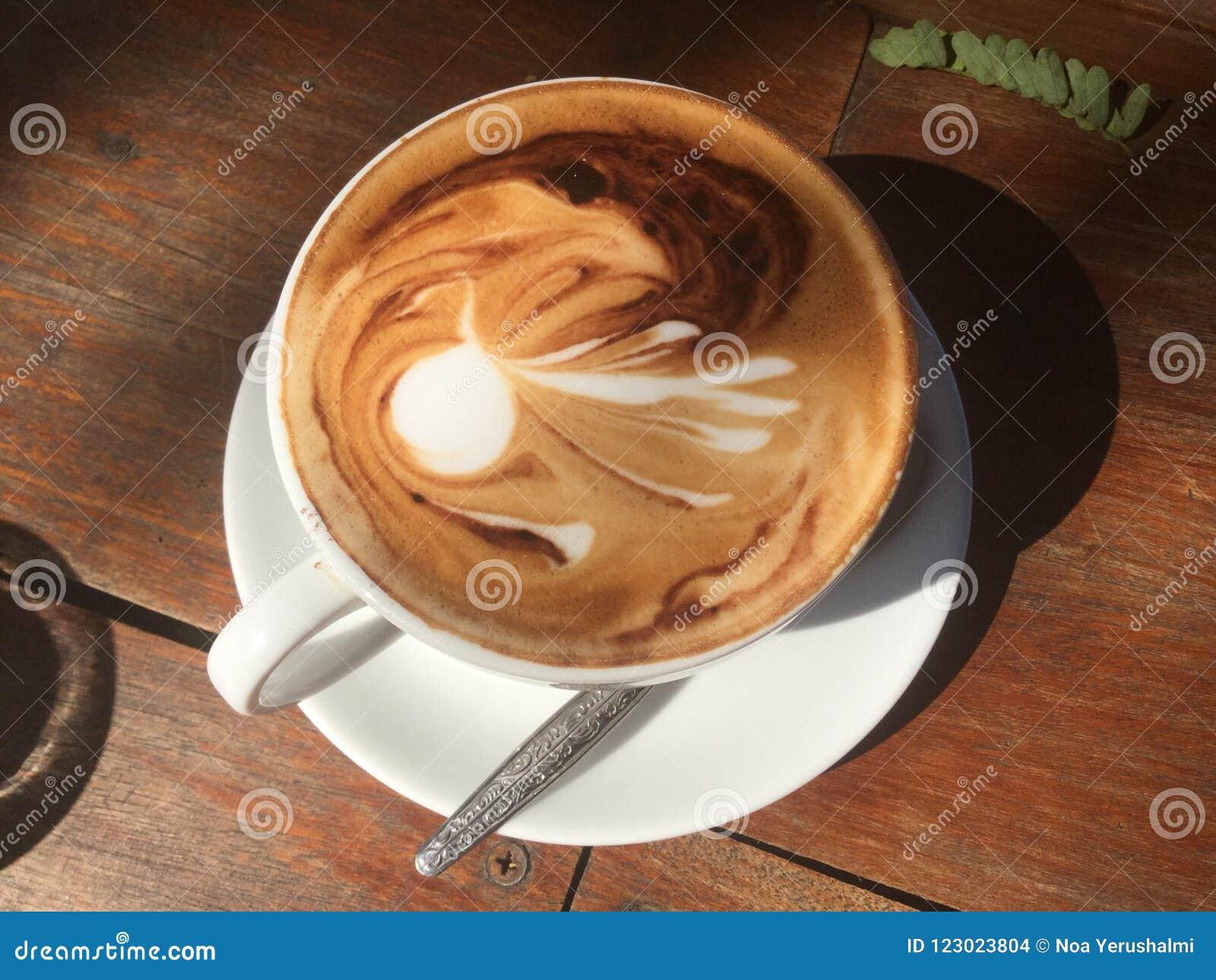 Café chaud Art de Latte