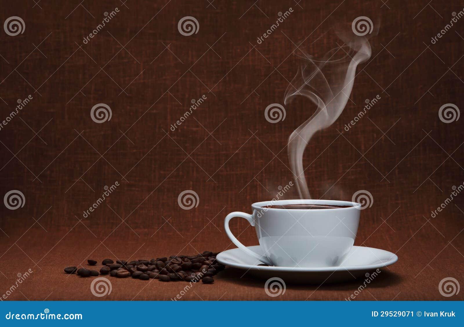 Café com espaço da cópia