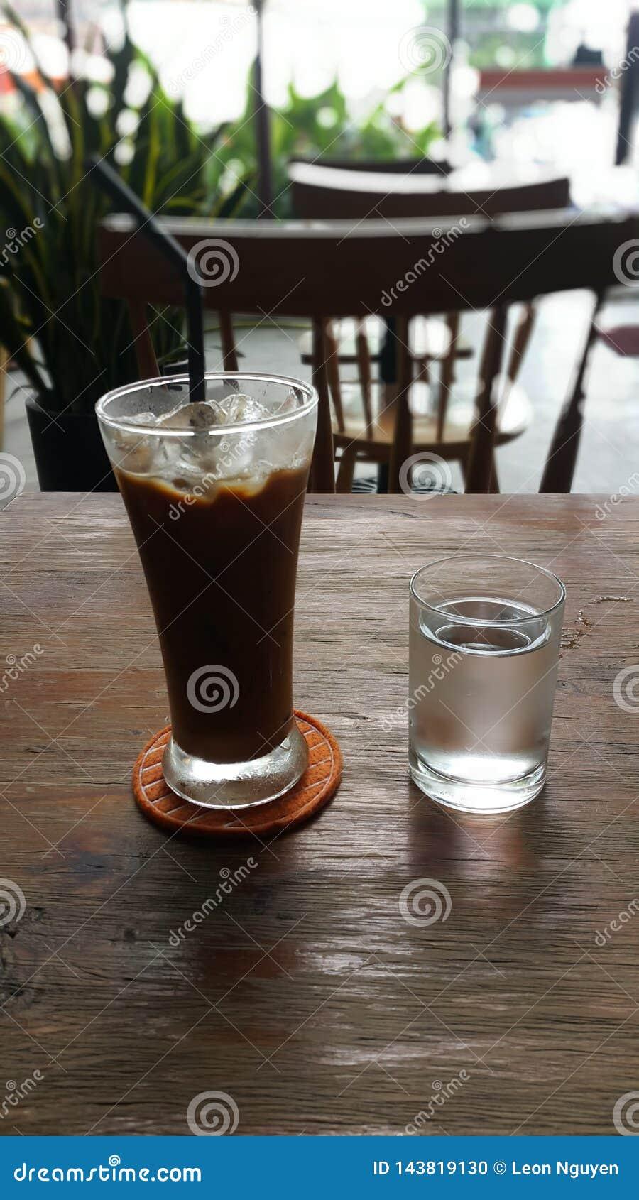 Café congelado com leite em Vietname