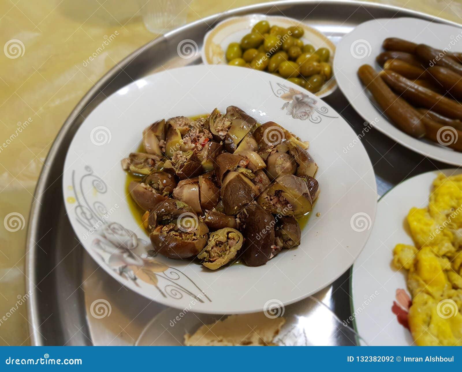 Café da manhã tradicional de Levant