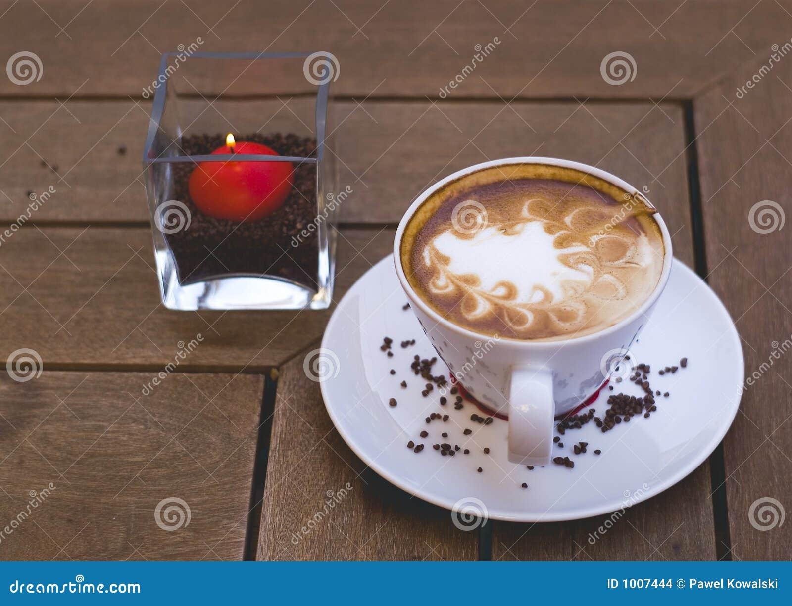 Café dans evenening