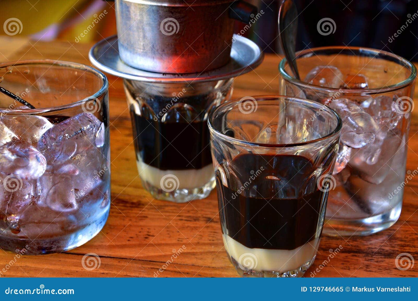 Café de gelo vietnamiano