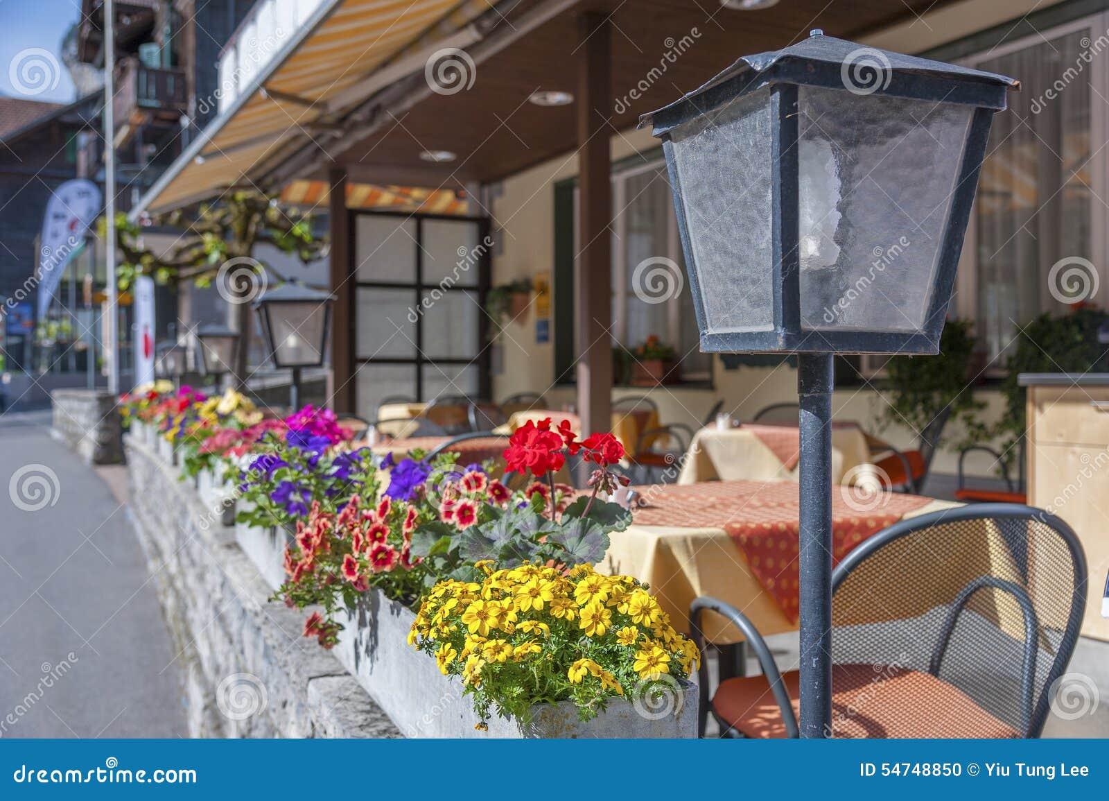 Café de trottoir