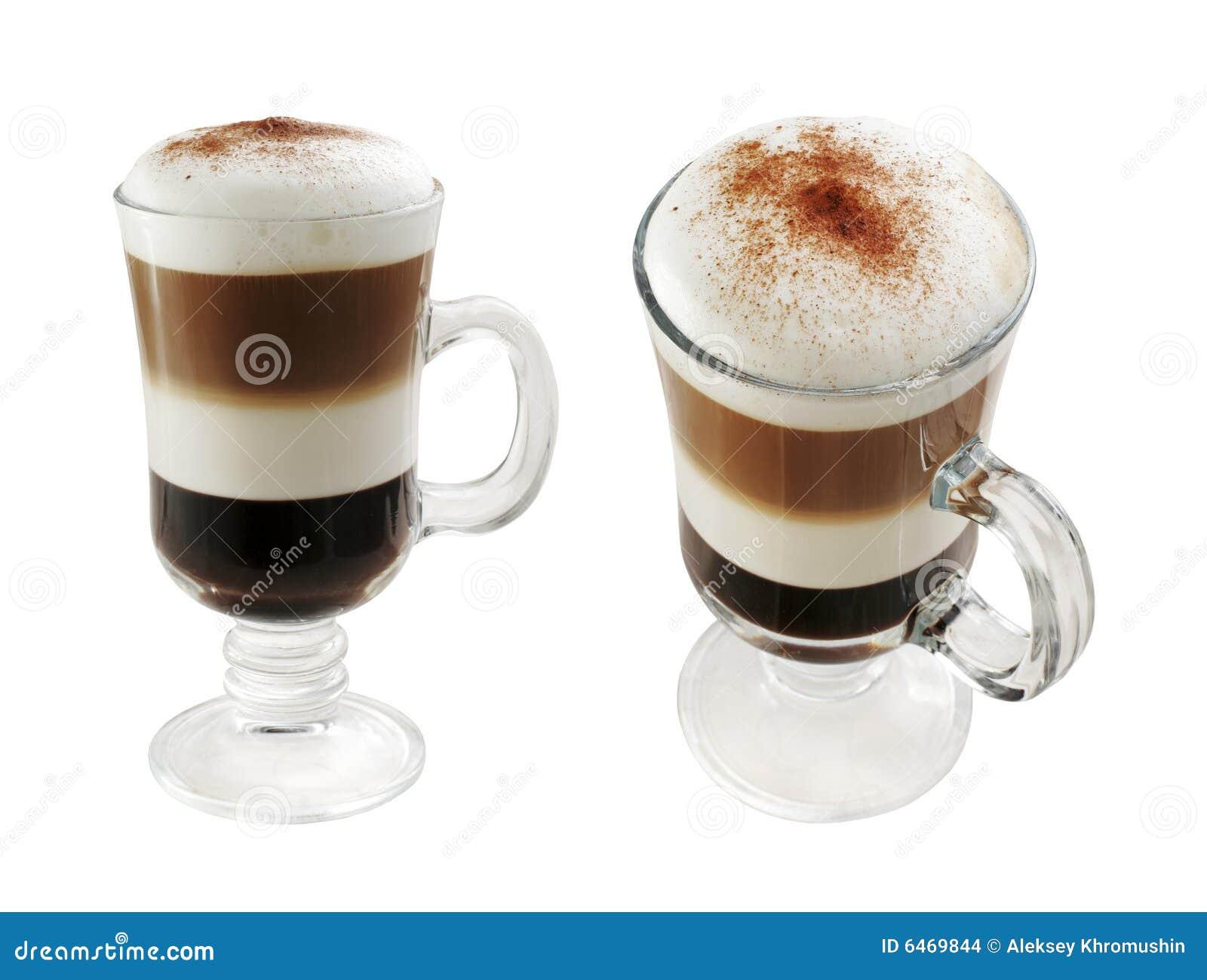 Café de varias capas