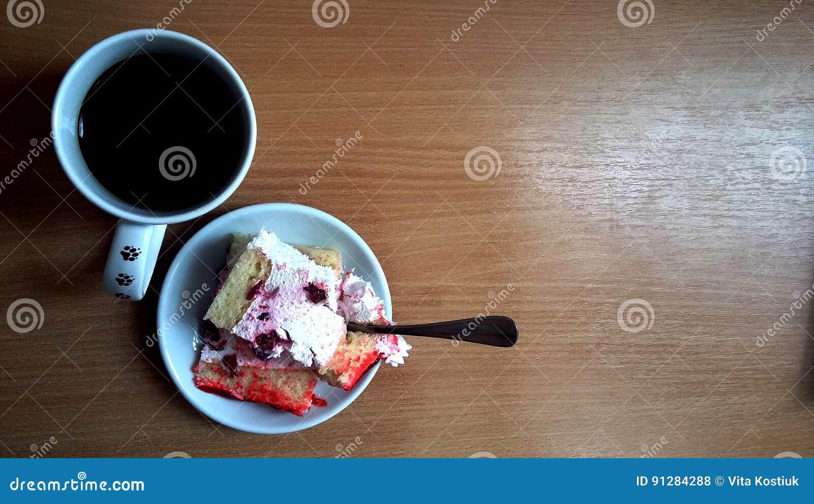 Café e bolo