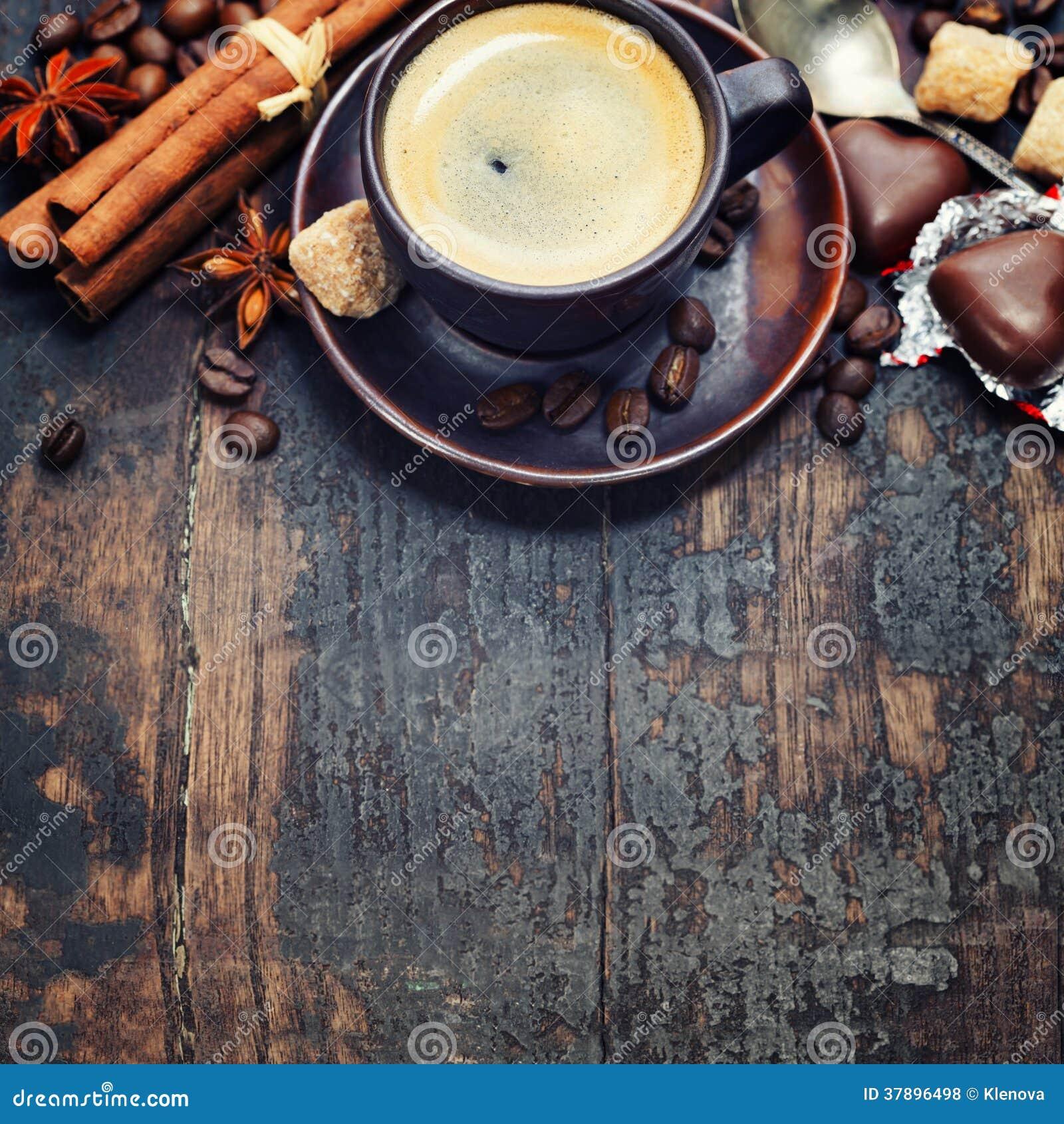 Café e especiarias