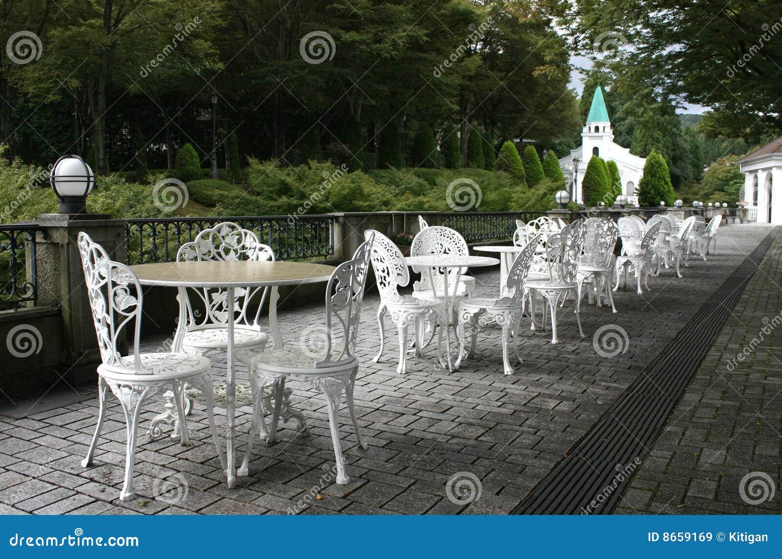 Café en plein air