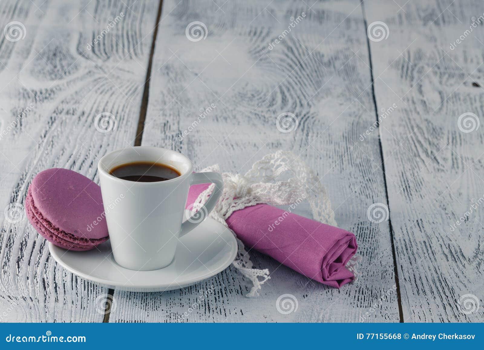 Café et macaron