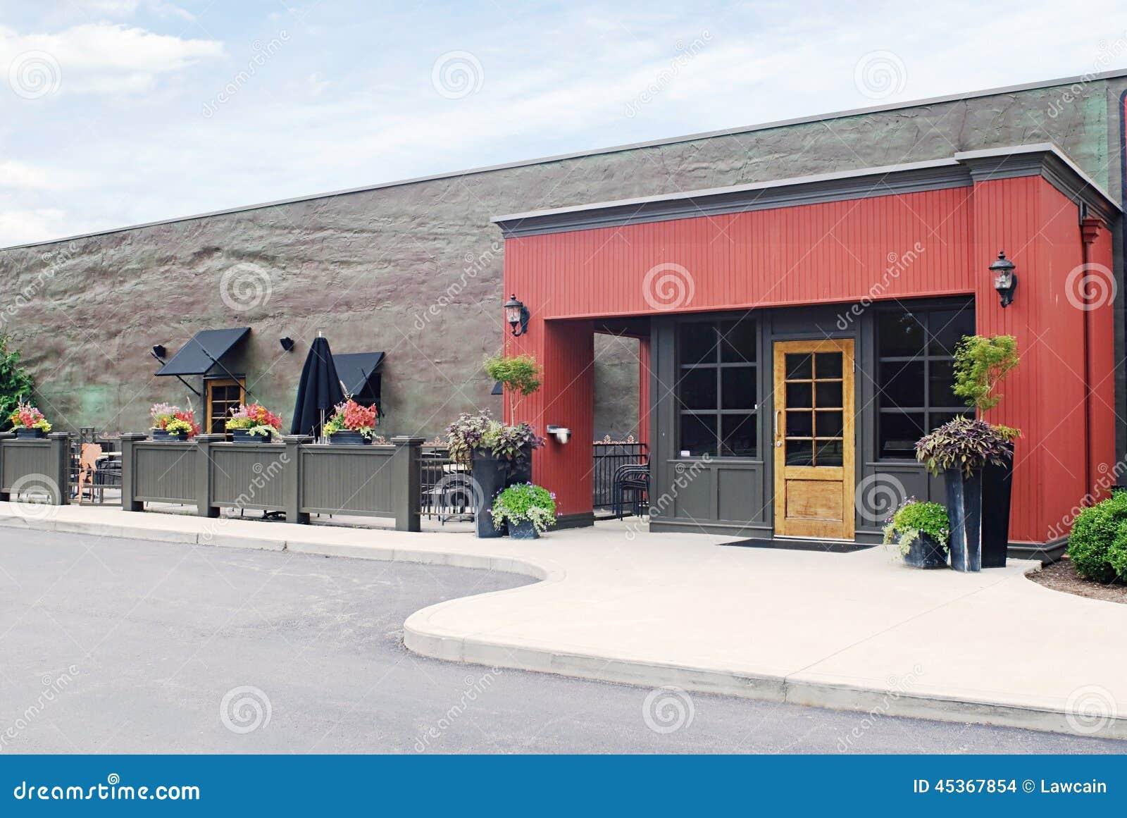 Café extérieur