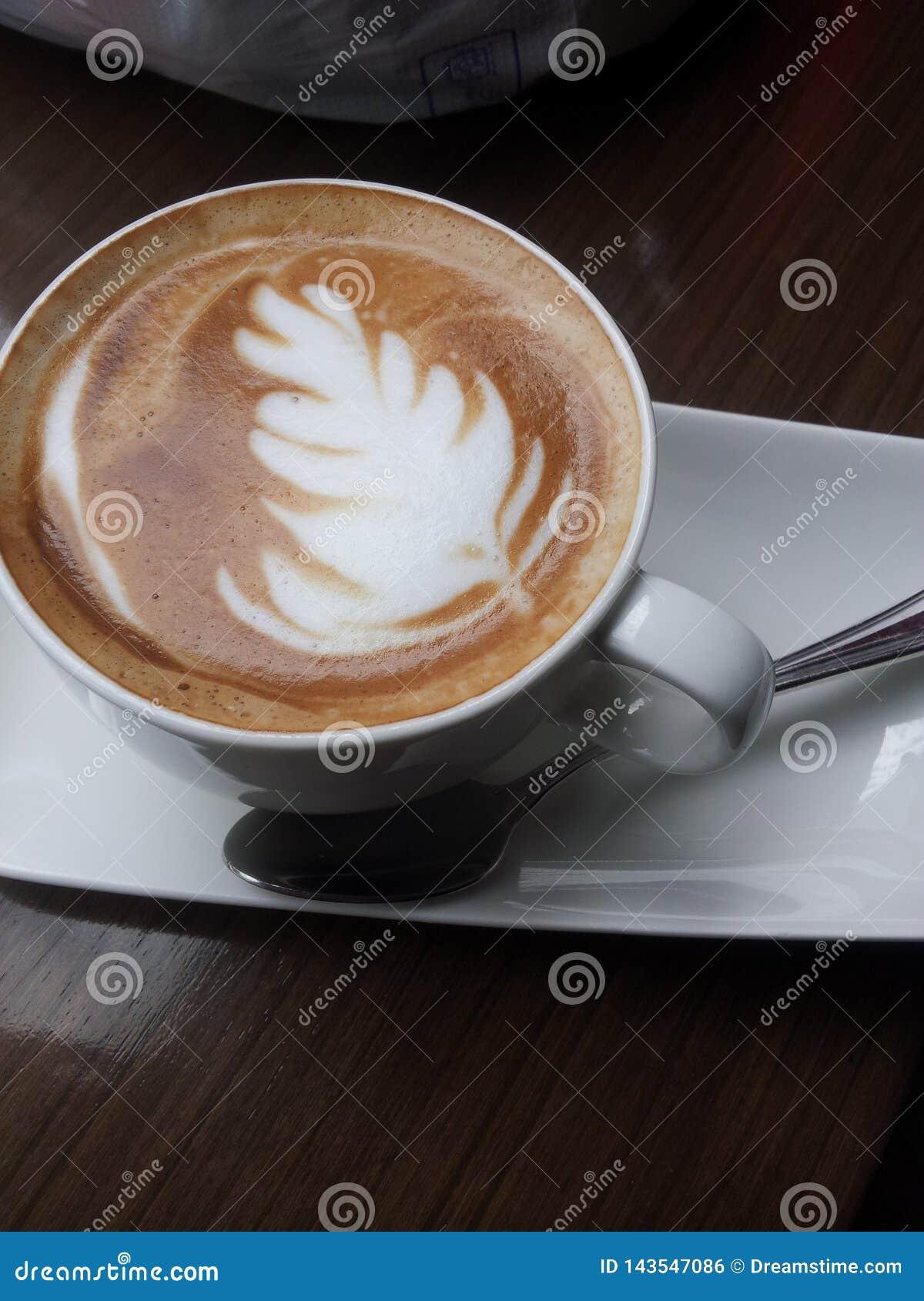 Café frondoso