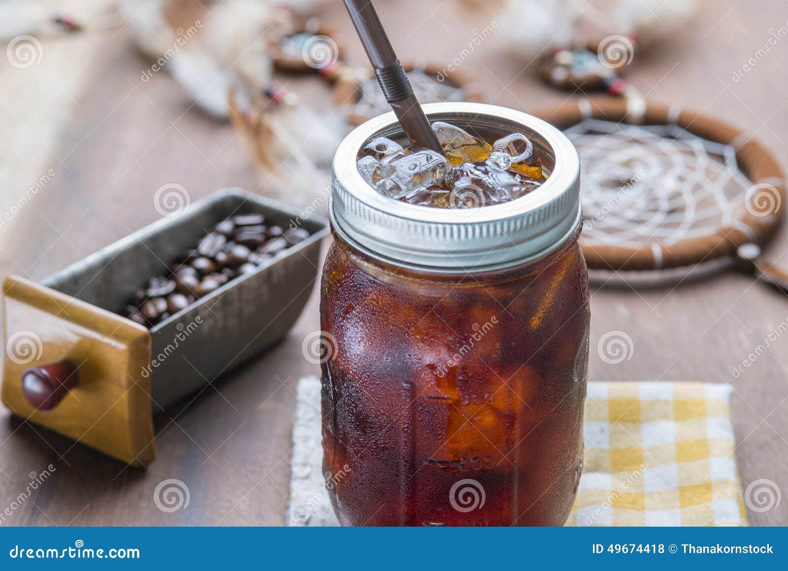 Café glacé froid d expresso