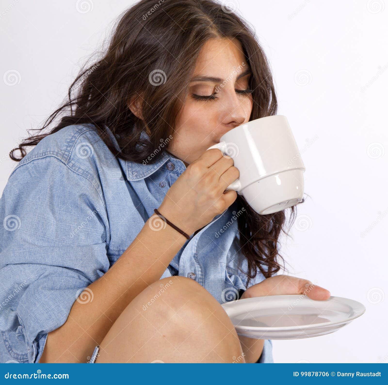 Café heureux de matin