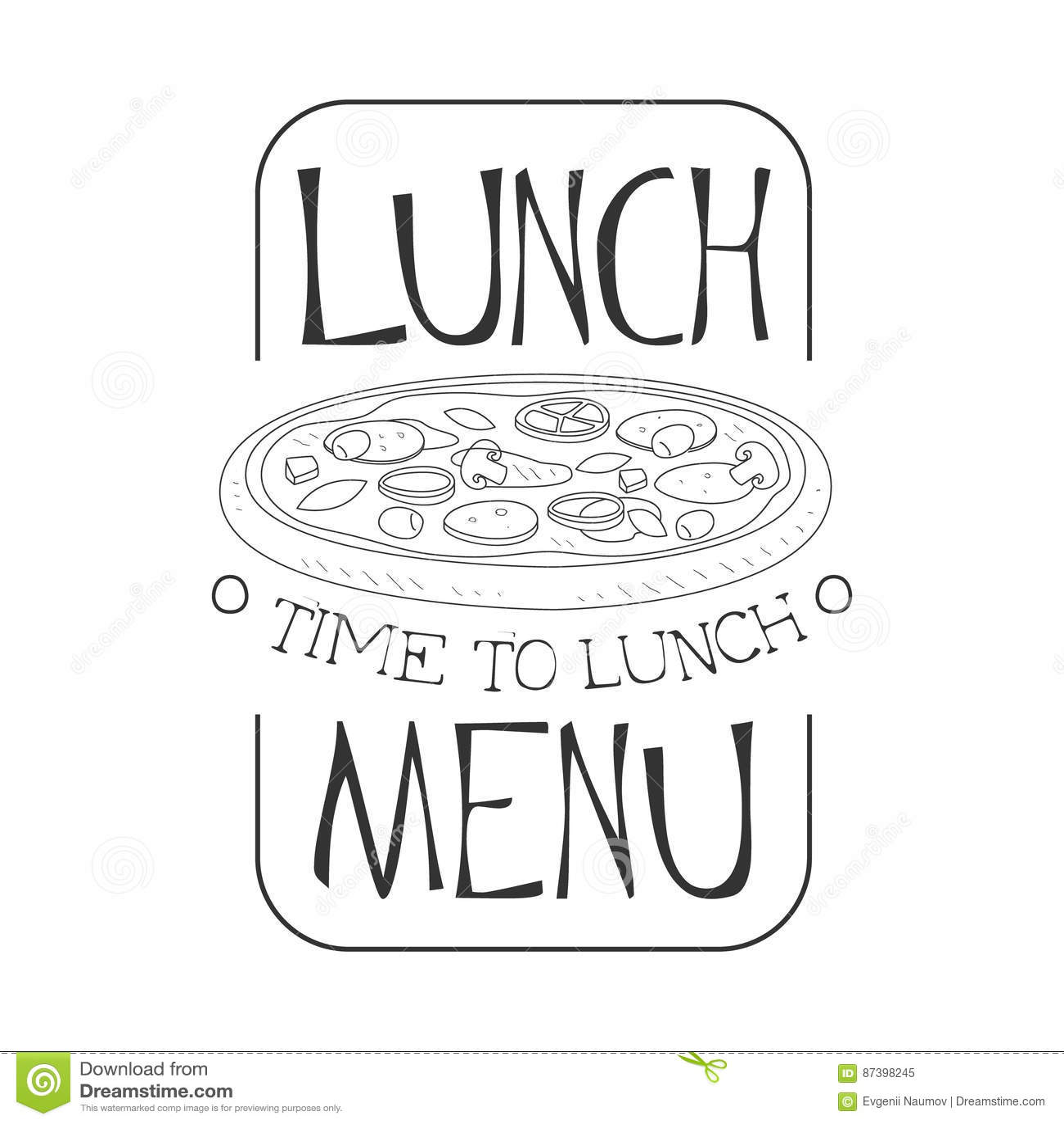 Charmant Beispiel Pizza Menü Schablone Bilder - Bilder für das ...
