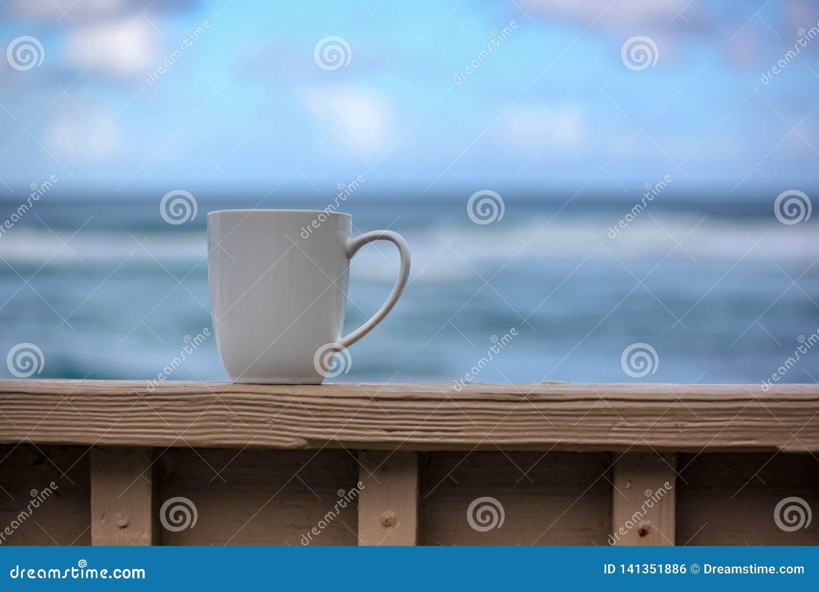 Café na praia