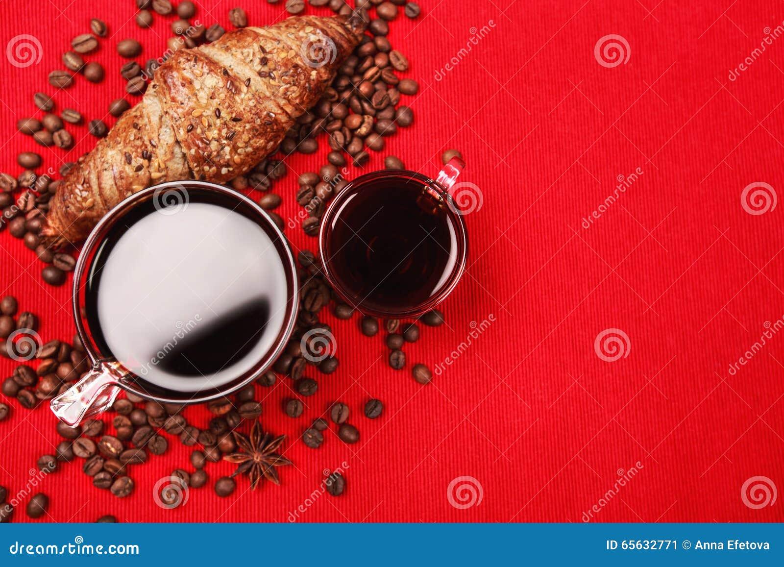 Café pour le petit déjeuner